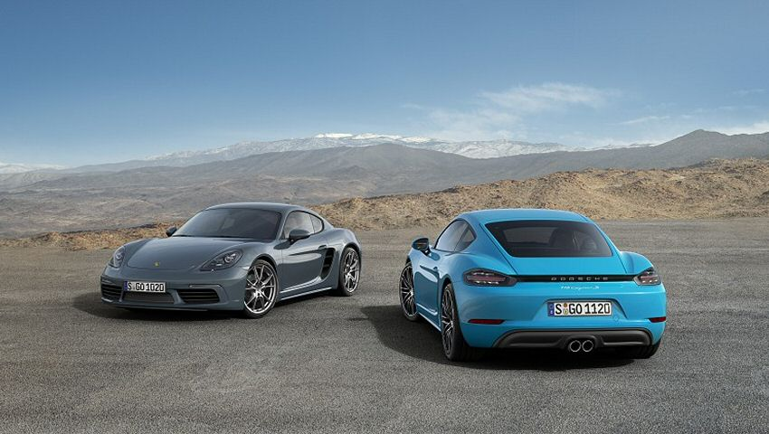 The 2019 Porsche 718 Cayman
