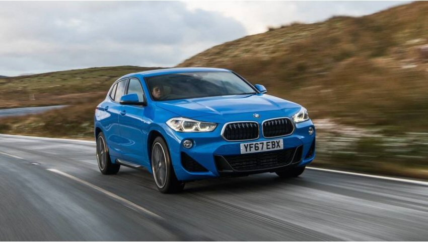 A quick look at the 2018 BMW X2
