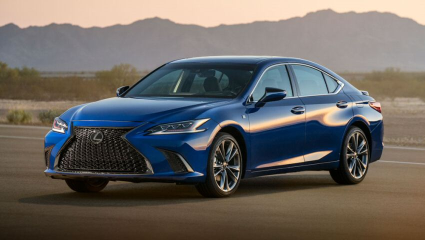 The 2019 Lexus ES