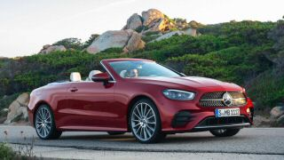 The updated 2020 Mercedes E Class Coupe and Cabriolet