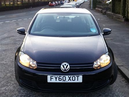 2010VolkswagenGolfVolkswagen Golf 1.6 TDi, BLACK, 2 owners, Next MOT due 30/09/2015, Full service history, Electric windows, Air conditioning, CD player, Central locking, Drivers airbags, Passenger airbags. 5 seatsBlack
