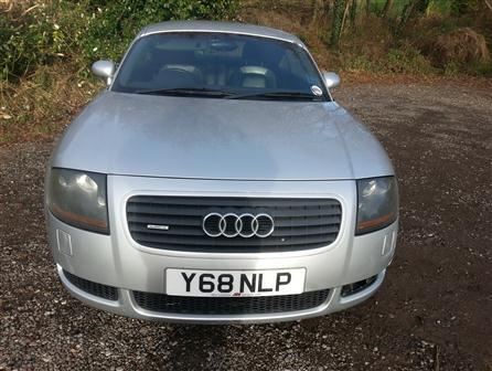 2001AudiTt CoupeExcellent example of low mileage 225 BHP TT Quattro 4 wheel drive. Black Leather. Last serviced November 2014. 9 service stamps. Xenon headlights. Bose speaker system. The 2 front tyres have about 8000 miles on them and the rears only 2000 miles, 3 Owners, Full service history, Next MOT due on 01/06/2015, Electric windows, Air conditioning, CD player, Leather trim, Heated seats, Height adjustable passenger seat, Folding rear seats, Metallic paint, 17