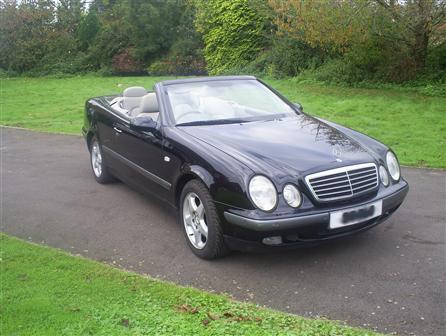 MERCEDES-BENZ CLK, 2300cc, BLACK, Two Door, 1998, 120000 miles, Mercedes CLK