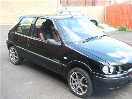 peugeot 106 gti black. Used Peugeot 106 Alloy Wheels,
