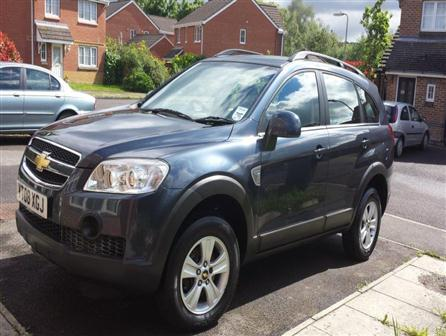 used Chevrolet Captiva car for sale