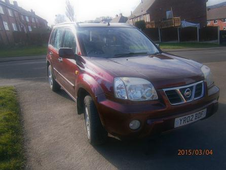 Used NissanX Trail5 door, 4x4, 3 former owners, dealer service history, cream leather, ABS, alarm, audio remote control, power steering, MOTd till May 2015, HPI clear, used daily, reduced for quick sale and reasonable offer considered needs to buy small  car. for sale in South Yorkshire