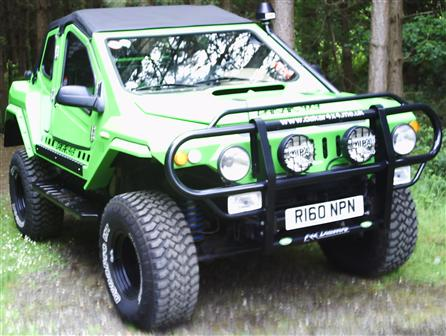 Used Land Rover Discovery Dakar 4x4 kit-car. Chassis, engine, suspension