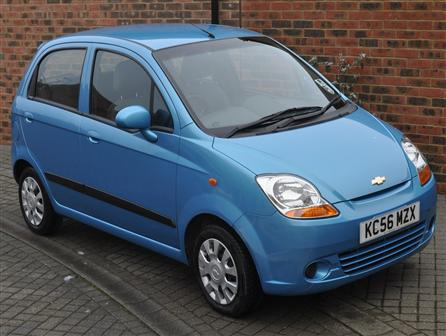 Used Chevrolet Matiz SE 2006/56 1000cc ocean blue Hatch Five Door