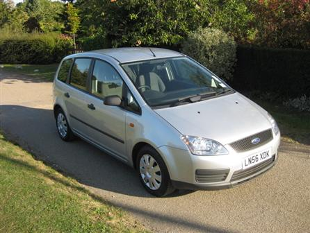 Ford Focus C-MAX LX 1.8 Petrol MPV 2006(56) in Moondust Silver and mileage