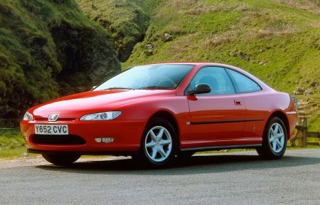 The Peugeot 406 Coupe